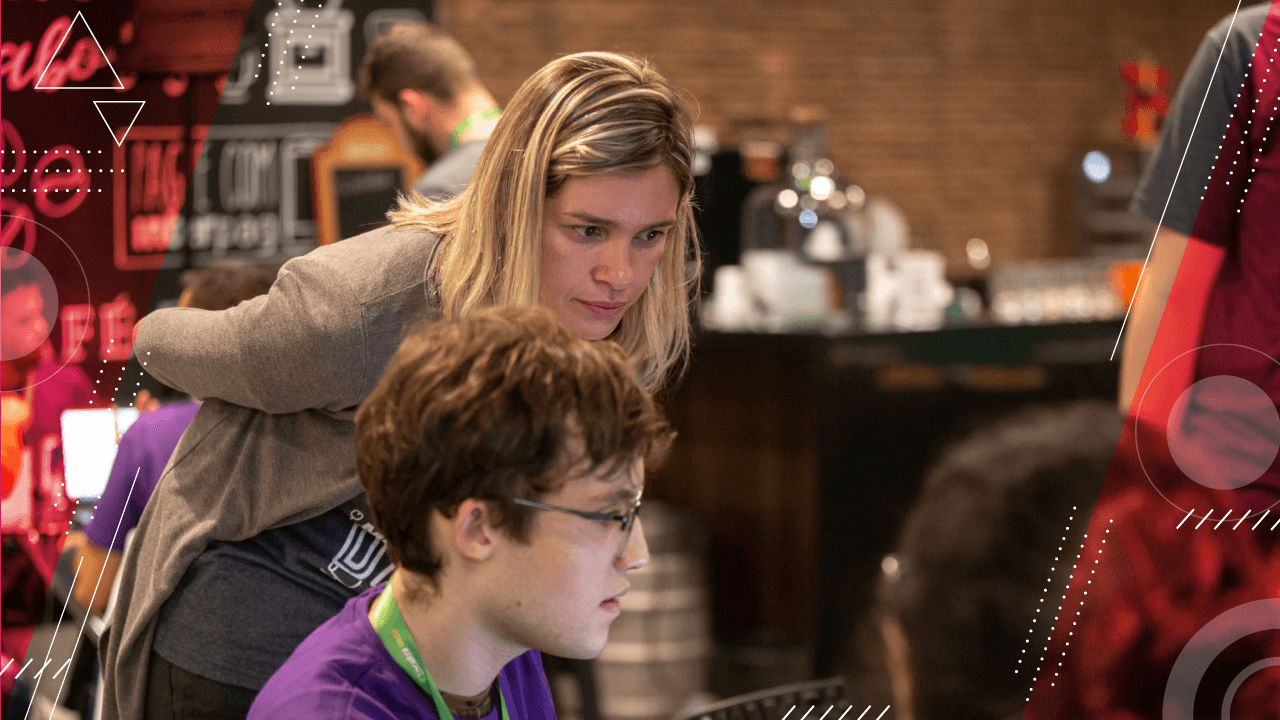 What's the role of mentors in a hackathon?